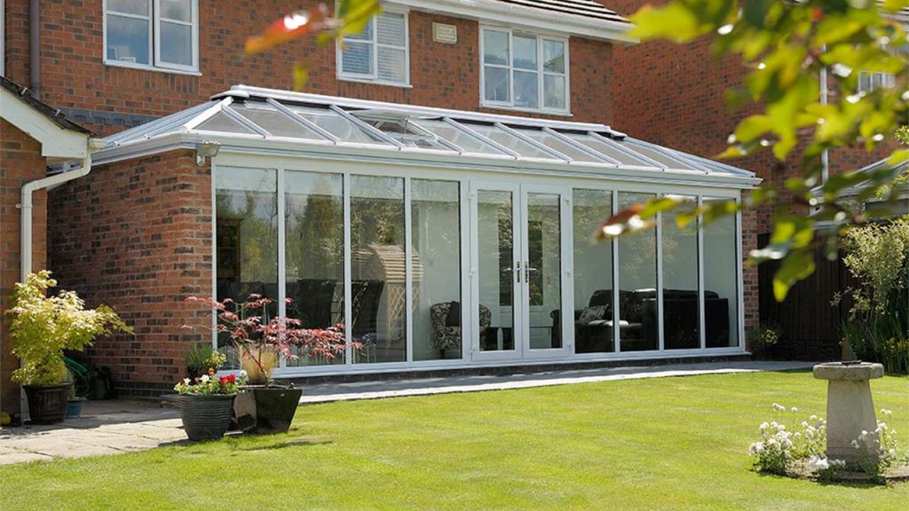 Glass Front Conservatory