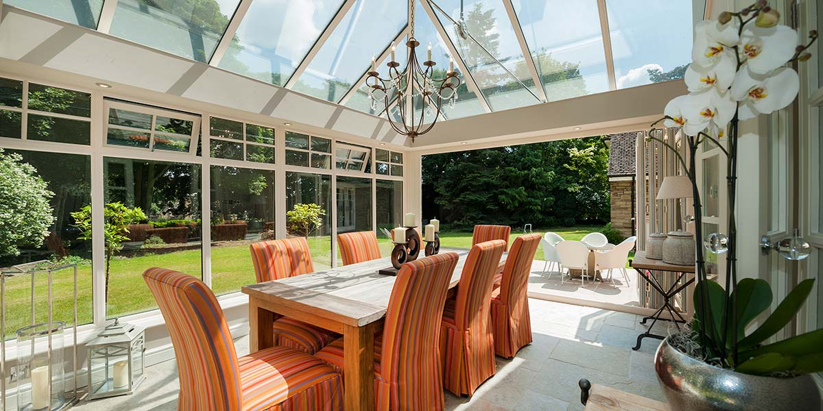 Living Spaces From 5 Star Orangery Conservatory Garden