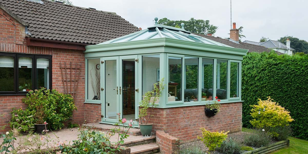 Green Edwardian Conservatory