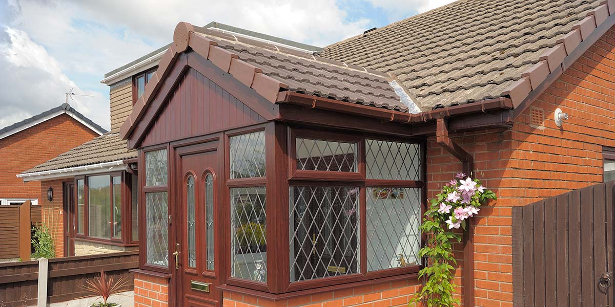 Front Porch Upvc Amp Brick Porches From 5 Star Windows