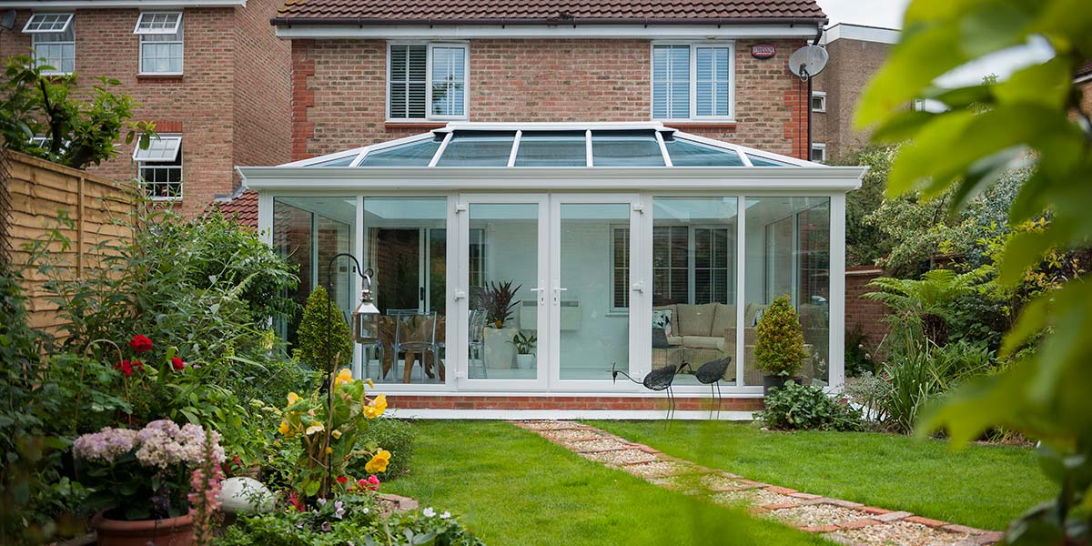 Glass-to-Floor Conservatory
