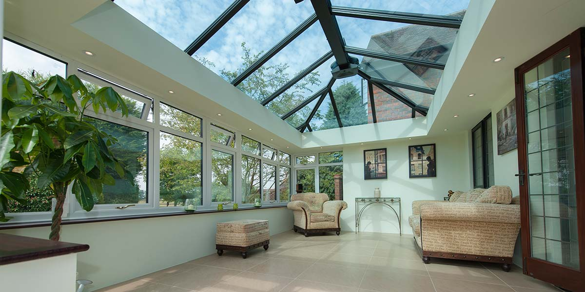 Large Conservatory With French Doors Amp Glass Roof By 5