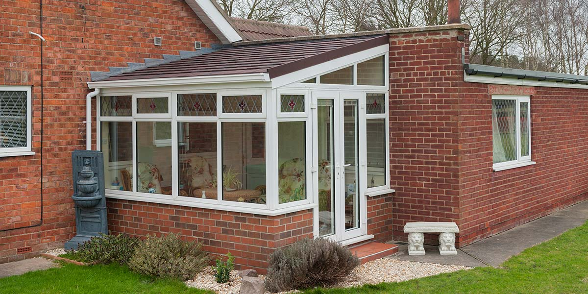 Lean to conservatory designs from 5 star conservatories for Lean to conservatory ideas