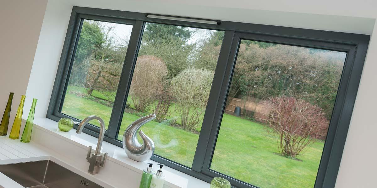 Grey Bi Folding Doors Aluminium Windows Amp Bi Folding