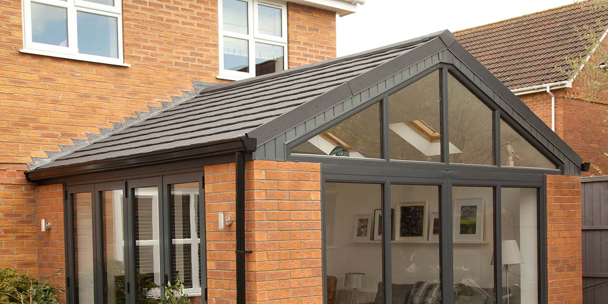 Tiled Roof Conservatories Solid Tiled Roof Conservatory