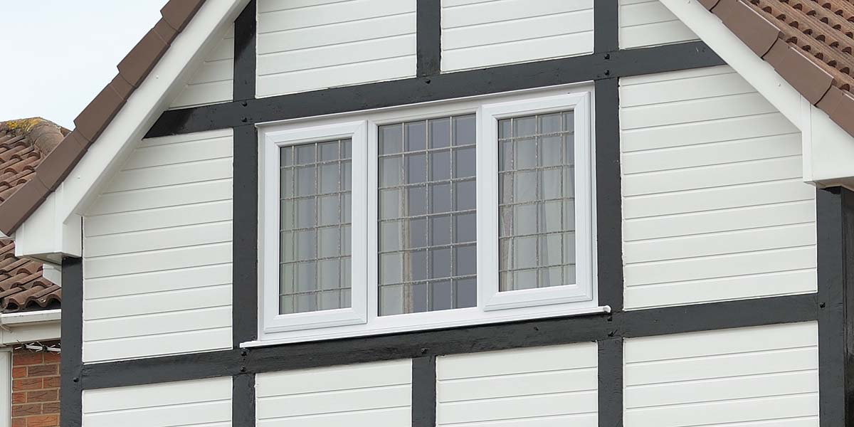 White Leaded Upvc Windows Amp Composite Door From 5 Star Windows Worcestershire