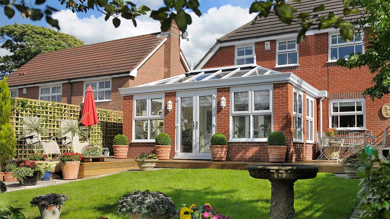 Invest in a conservatory or orangery from 5 star windows for 5 star windows