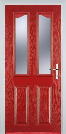 Red Composite Doors Red Front Doors Amp Back Doors From 5