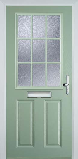 Chartwell Green Composite Doors Chartwell Green Front