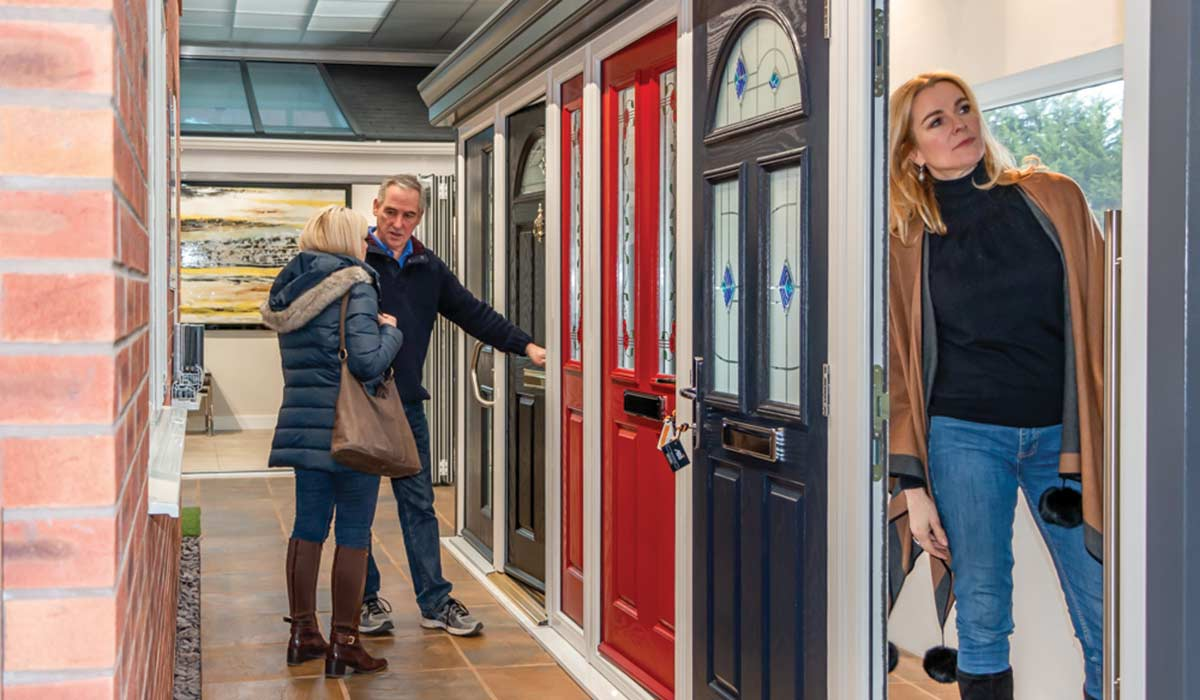 Worcester Showroom - Door Gallery