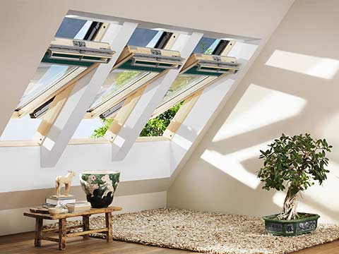 Velux roof windows velux windows from 5 star windows for How to clean velux skylights