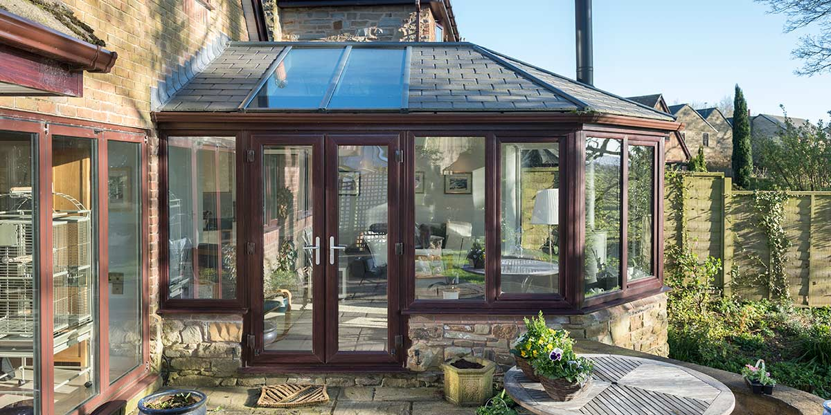 Victorian Conservatory with Ultraroof from 5 Star Windows ...