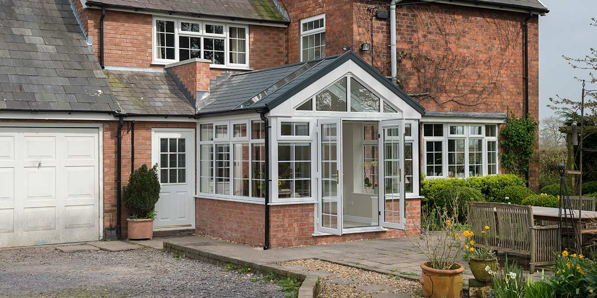 Gable Conservatory with Ultraroof from 5 Star Windows ...