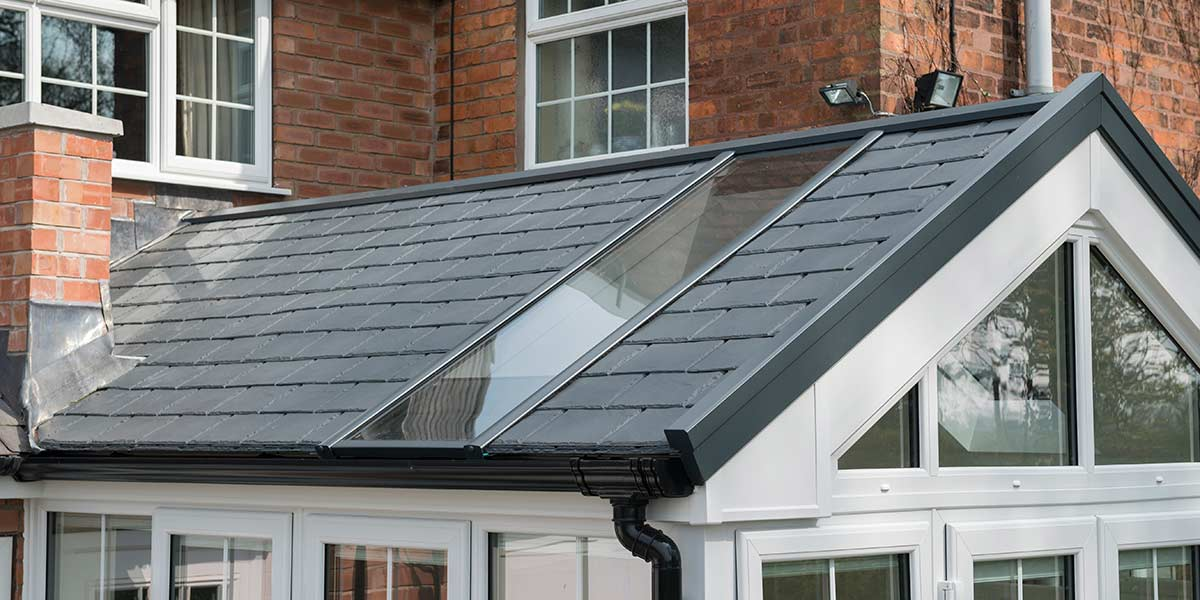 Gable Ultraroof Conservatory Roof Detail