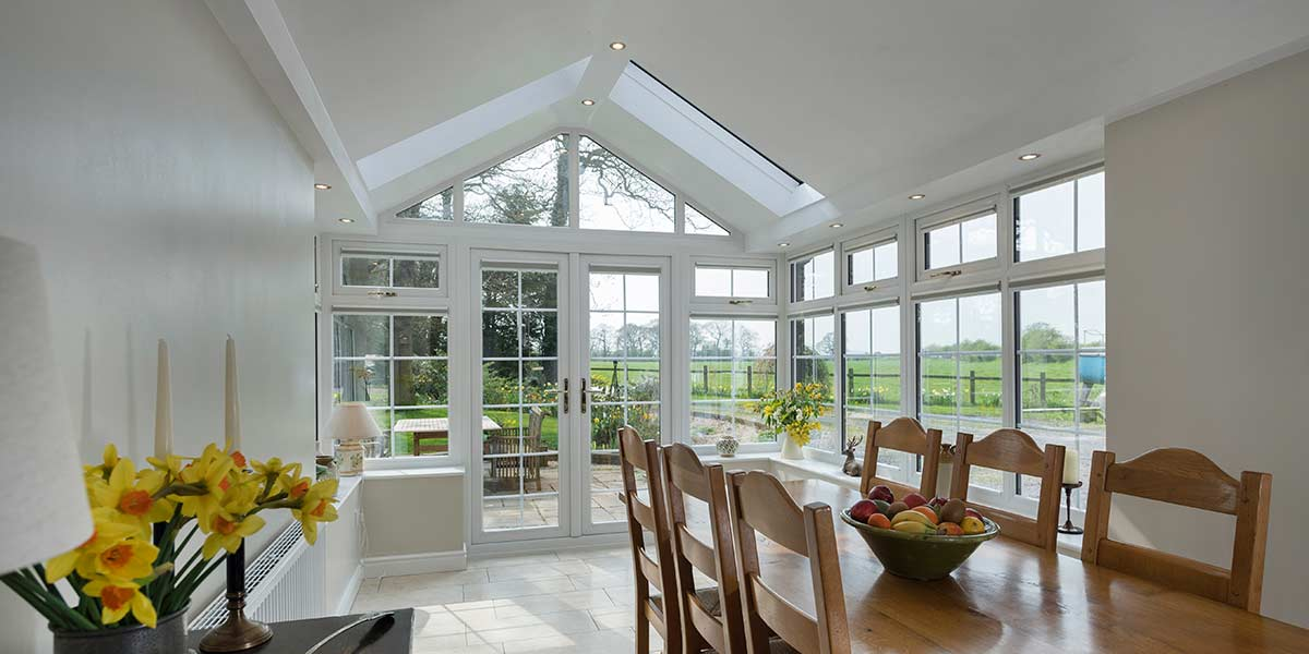Gable Ultraroof Conservatory Internal Detail