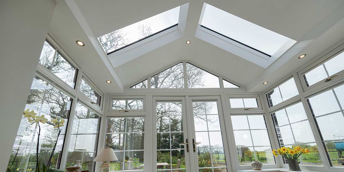 Gable Conservatory With Ultraroof From 5 Star Windows