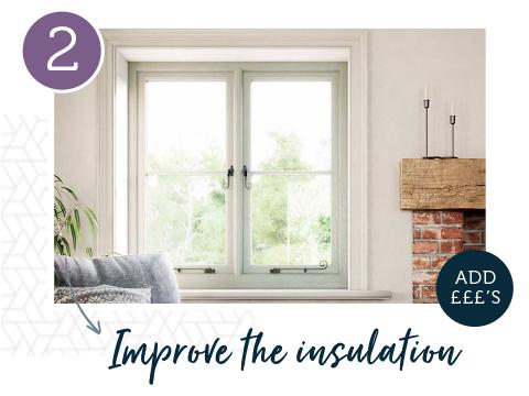 Improve the insulation