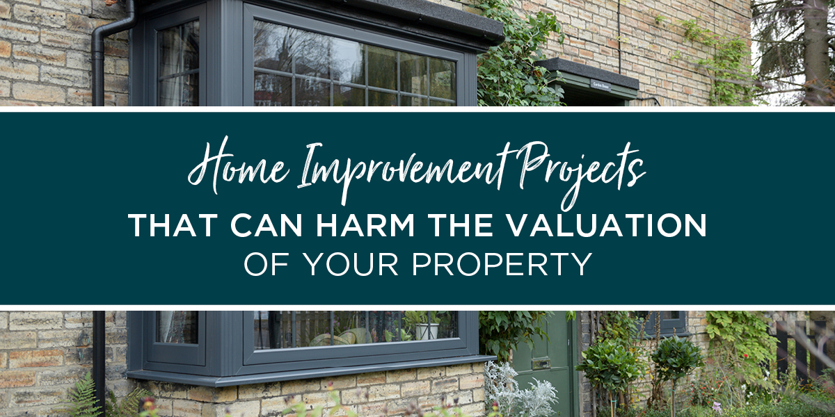 Home improvement projects that can harm the valuation of your property