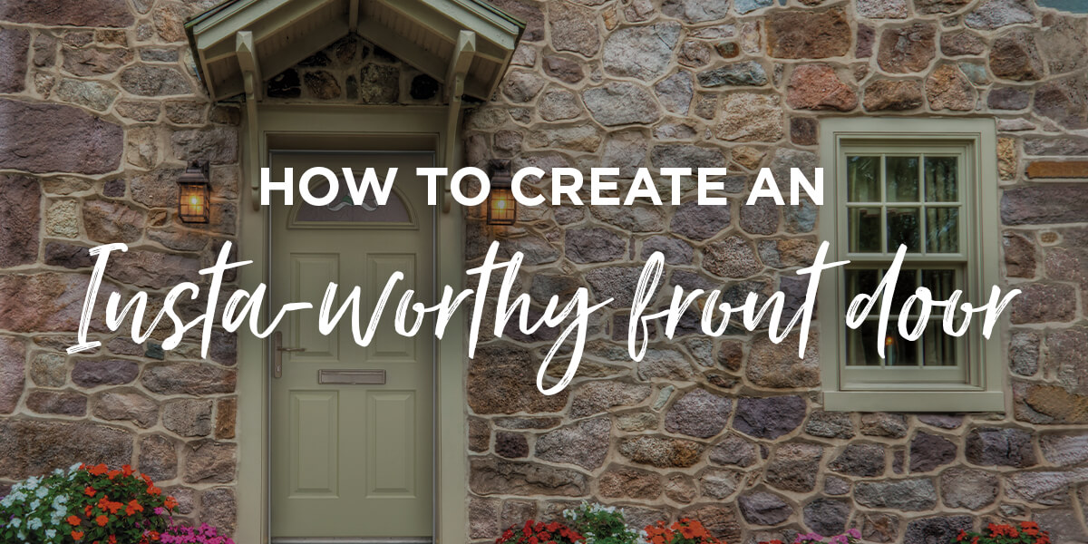 How To Create An Insta-Worthy Front Door